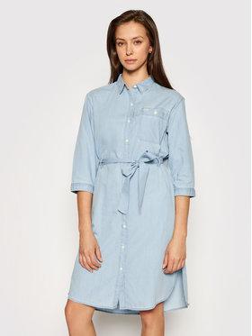 Lee Lee Košilové šaty Denim L50YBEQE Modrá Regular Fit