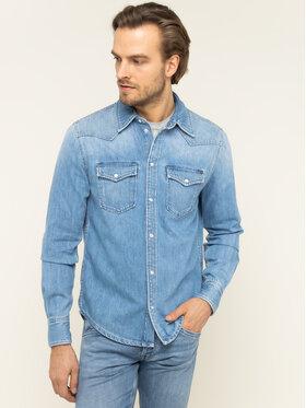 Pepe Jeans Pepe Jeans Πουκάμισο Carson PM301044PB1 Σκούρο μπλε Regular Fit