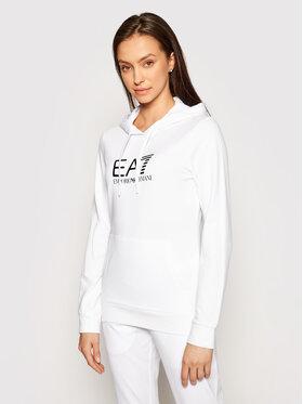 EA7 Emporio Armani EA7 Emporio Armani Majica dugih rukava 8NTM40 TJ31Z 0102 Bijela Regular Fit