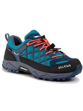 Salewa Salewa Trekingová obuv Jr Wildfire Wp 64009-8641 Modrá