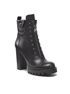 Carinii Carinii Členková obuv B7639 Čierna
