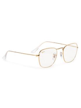 Ray-Ban Ray-Ban Sluneční brýle Frank 0RB3857 9196BL Zlatá