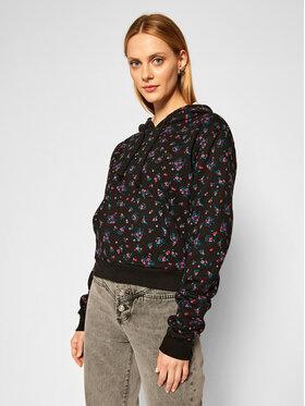 Vans Vans Bluză Beauty Floral VN0A4S9E Negru Regular Fit