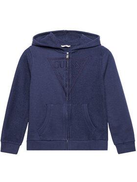 Guess Guess Džemperis L1RQ10 KA6R0 Tamsiai mėlyna Regular Fit
