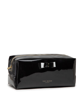 Ted Baker Ted Baker Pochette per cosmetici Bow Washbag WXG-HAIYLEY Nero