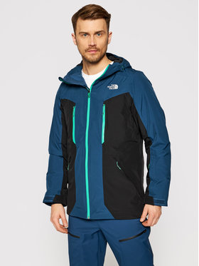 The North Face The North Face Lyžiarska bunda Mount Bre NF0A3LUZ3ZP1 Modrá Regular Fit