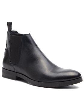 Togoshi Togoshi Kotníková obuv s elastickým prvkem TG-12-02-000063 Tmavomodrá