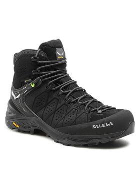 Salewa Salewa Chaussures de trekking Ms Alp Trainer 2 Mid Gtx GORE-TEX 61382-0971 Noir