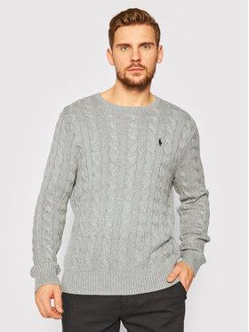 Polo Ralph Lauren Polo Ralph Lauren Пуловер 710775885013 Сив Regular Fit
