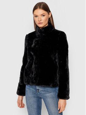 Vero Moda Vero Moda Кожено палто Thea 10249635 Черен Regular Fit