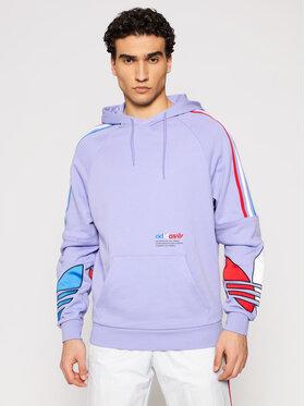 adidas adidas Sweatshirt Tricol Hoody 2 GN4447 Violett Regular Fit