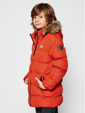 LEGO Wear LEGO Wear Zimní bunda LwJoodie 706 22894 Oranžová Regular Fit
