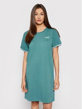 Puma Puma Hétköznapi ruha Amplified 585912 Zöld Relaxed Fit