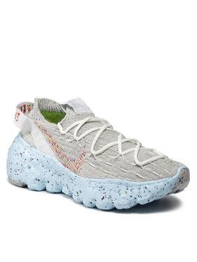 Nike Nike Boty Space Hippie 04 CZ6398 102 Šedá