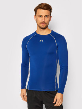 Under Armour Under Armour Technikai póló 1257471 Sötétkék Slim Fit