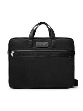 Calvin Klein Calvin Klein Porta PC Urban Utility Laptop Bag W/Pckt K50K507251 Nero