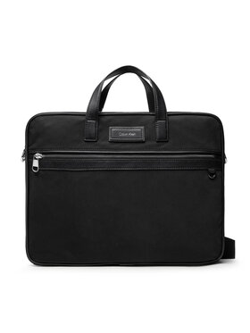Calvin Klein Calvin Klein Taška na laptop Urban Utility Laptop Bag W/Pckt K50K507251 Čierna