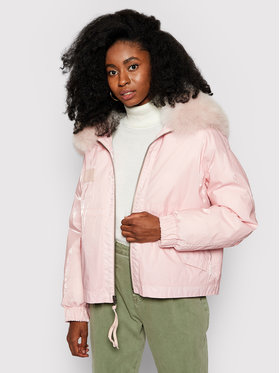 Mr & Mrs Italy Mr & Mrs Italy Doudoune Cropped XPC0258 Rose Jazzy Fit
