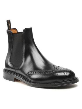 Fabi Fabi Kotníková obuv s elastickým prvkem FU0312A Černá