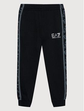 EA7 Emporio Armani EA7 Emporio Armani Spodnie dresowe 6KBP57 BJ5BZ 1200 Czarny Regular Fit