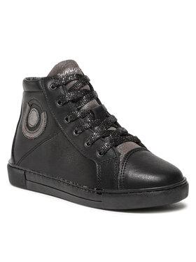 Primigi Primigi Šnurovacia obuv 8430900 D Čierna