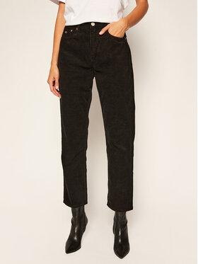 Tommy Jeans Tommy Jeans Παντελόνι υφασμάτινο Harper DW0DW09186 Μαύρο Straight Fit