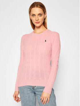 Polo Ralph Lauren Polo Ralph Lauren Svetr Julianna Wool/Cashmere 211525764066 Růžová Straight Fit