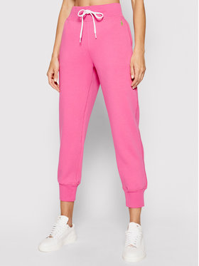 Polo Ralph Lauren Polo Ralph Lauren Sportinės kelnės Akl 211780215015 Rožinė Regular Fit