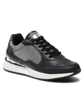 Guess Guess Sneakersy Moxea FL5MOX PEL12 Czarny