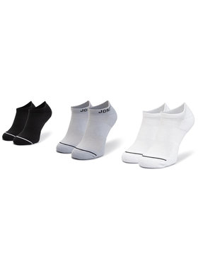 NIKE NIKE Sada 3 párů nízkých ponožek unisex SX5546 018 Černá