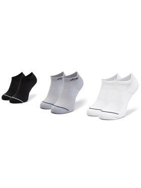 NIKE NIKE Σετ 3 ζευγάρια κοντές κάλτσες unisex SX5546 018 Μαύρο