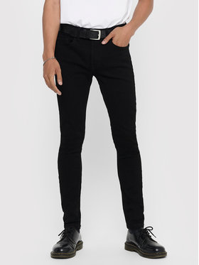Only & Sons ONLY & SONS Дънки Warp Life 22008822 Черен Skinny Fit