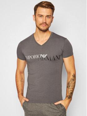 Emporio Armani Underwear Emporio Armani Underwear Тишърт 110810 0A516 00044 Сив Slim Fit