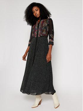 Desigual Desigual Hétköznapi ruha 20WWVW44 Fekete Regular Fit
