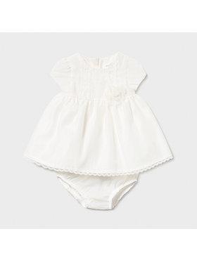 Mayoral Mayoral Φόρεμα κομψό 1821 Λευκό Regular Fit
