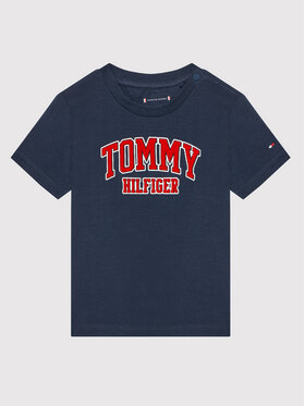 Tommy Hilfiger Tommy Hilfiger Тишърт KN0KN01272 Тъмносин Regular Fit