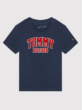 Tommy Hilfiger Tommy Hilfiger Tricou KN0KN01272 Bleumarin Regular Fit