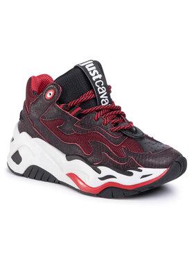 Just Cavalli Just Cavalli Sneakers S09WS0074 Dunkelrot