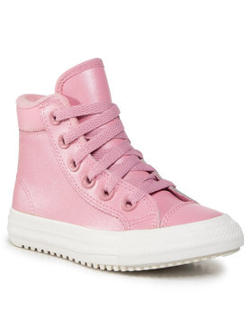 Converse Converse Sneakersy Ctas Pc Boot Hi 668766C Różowy