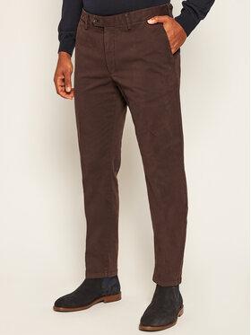 Oscar Jacobson Oscar Jacobson Spodnie materiałowe 51 764 305 Brązowy Regular Fit