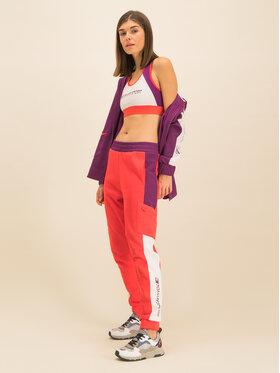 Tommy Sport Tommy Sport Spodnie dresowe Dwr Fleece S10S100400 Czerwony Regular Fit