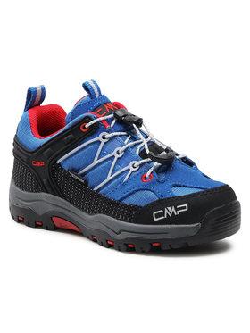 CMP CMP Trekkingi Kids Rigel Low Trekking Shoe Wp 3Q54554 Niebieski