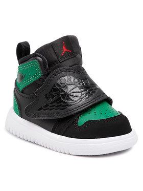 Nike Nike Boty Sky Jordan 1 (TD) BQ7196 003 Černá