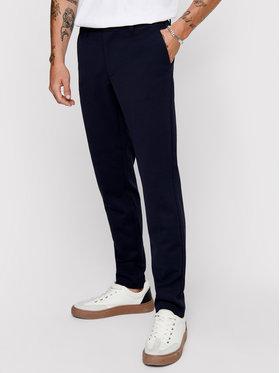 Only & Sons ONLY & SONS Medžiaginės kelnės Mark 22010209 Tamsiai mėlyna Slim Fit