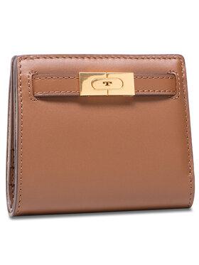 Tory Burch Tory Burch Mali ženski novčanik Lee Radziwill Mini Wallet 73584 Smeđa