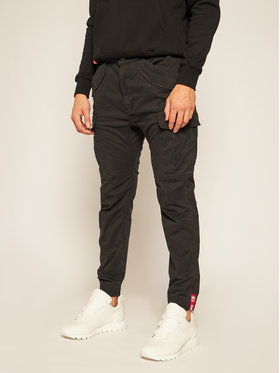 Alpha Industries Alpha Industries Joggery Airman 188201 Czarny Tapered Fit