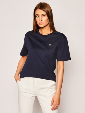 Lacoste Lacoste T-shirt TF5441 Blu scuro Regular Fit