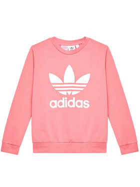 adidas adidas Sweatshirt Tefoil GN8253 Rosa Regular Fit