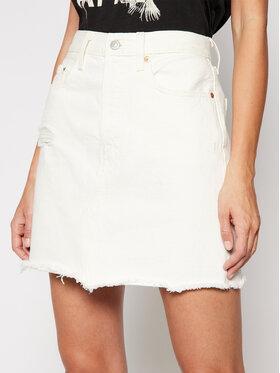 Levi's® Levi's Φούστα τζιν Decon 77882-0010 Λευκό Regular Fit