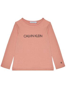 Calvin Klein Jeans Calvin Klein Jeans Bluse Institutional Logo IG0IG00627 Rosa Regular Fit